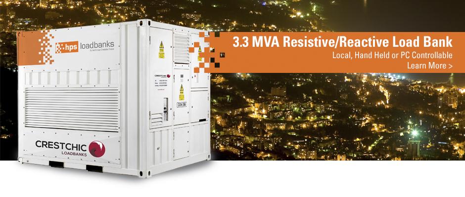 2018 | 3.3 MVA Resistive Reactive Load Bank